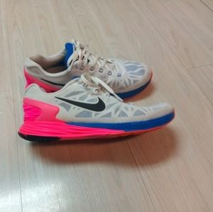 Nike Lunarglide 6 tennis shoes sz 7.5""
